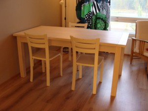 pöytä tervalepästä