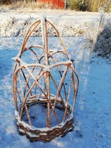 pionituki talviasussa